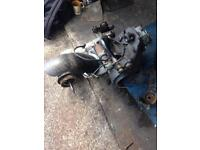 Peugot sum up 125 4 stroke moped engine