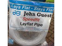 John Guest Speedfit 22BPB-50C 22mm x 50m x 2 rolls Coil Polybutylene Layflat Pipe
