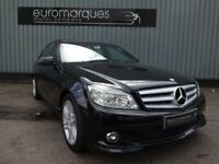 Mercedes C Class C 180 KOMPRESSOR BLUEEFFICIENCY SPORT (black) 2009