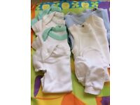 Baby Boy Clothes Bundle 0-3 Months (10 Items)