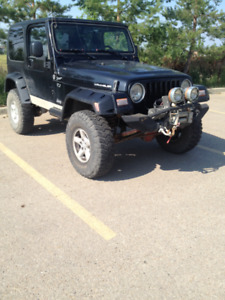 2006 Jeep Wrangler TJ ***LOW KM***