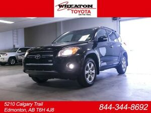 2010 Toyota Rav4 Limited, V6, AWD, Sunroof, Back Up Camera, Push