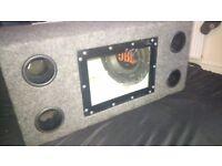 In car audio equipment job lot