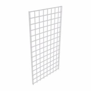 Gridwall panel 2' x 8', white, 28lb/ea
