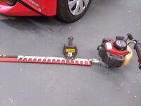 Kawasaki KHS 750 A petrol/two stroke hedge trimmer