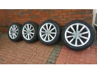 Audi 19 Alloys with Tyres