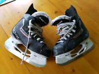 Easton ice hockey skates size 3