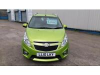 CHEVROLET SPARK 1.2 LT IN STUNNING MET GREEN £30 TAX CHEAP INS £17 WEEK P/LOAN