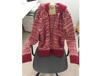 Hollister Alpine jacket knitted