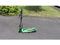 Zinc Volt 120 Electric Scooter- Green/Black- With Charger- Excellent Cond- Collect or Post £12