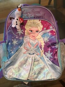 Frozen backpack - brand new -  light up!