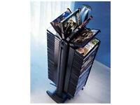 Electric Revolving DVD Storage Tower