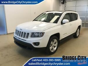 2015 Jeep Compass High Altitude- Leather, Heated Seats, Sunroof!