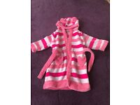 Girls dressing gown 1-1.5 years