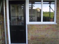 Composite Back Door & window