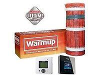 Warmup underfloor heating mat, new, 7sq m