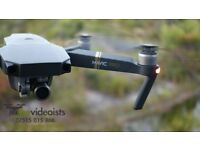 DJI Mavic Pro 4K Camera Drone -To Hire Only- Fully Insured £53 Daily Rate