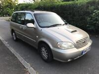 KIA SEDONA LX 2004 AUTO DIESEL 6 SEATER 1 OWNER FROM NEW 80k FULL SERVICE HISTORY DRIVES THE BEST