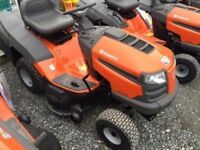 Husqvarna TC138 Ride on Lawnmower mower