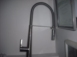 new water ridge pull down kitchen faucet