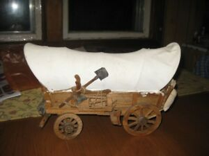 1950's wooden wagon