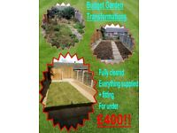 Budget Garden Transformations, clearance, mowing, maintenance, landscaping, gardener, turfing, slabs