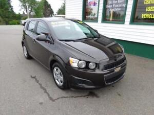 2014 Chevrolet Sonic LS for only $73 bi-weekly all in!