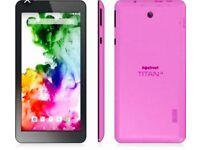 "Hipstreet Titan 4 7"" Quad CoreGoogle Certified Android 5 8GB Tablet Bluetooth"