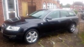 Audi A6 TDI Estate + Satnav + Leather + Extras for sale