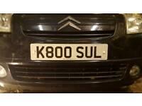 Private reg K800SUL
