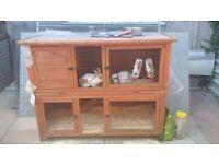 rabbit/guinea pig/ferret hutch for sale