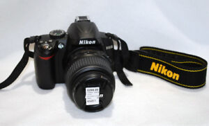 Nikon D3000 10.2MP Digital SLR Camera with 18-55mm Lens
