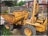 3 tonne dumper ,buyer to collect, good runner and in good working order west coast Scotland £1500