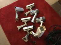 Security cameras used, good quality day and night hi res