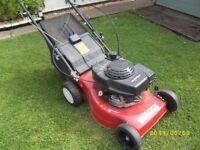 Mountfield lawnmower ,self propelled, With honda engine