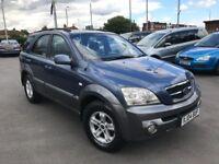 Kia Sorento 2.5 CRDI XE (blue) 2004