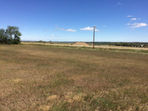 5 acre North Sask River Valley View - Lot #1
