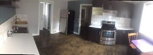 2 bedroom main floor apartment that is 1 Block from Law School