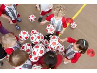 Lead Football Coach for Toddlers and Young Children