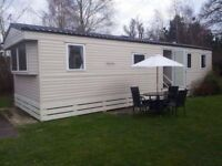 8 berth static mobile home/caravan for sale. Oakdene.