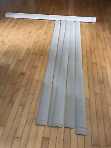 Toile verticale porte-patio 6 pieds