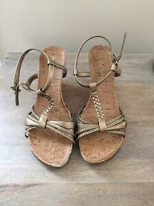 George size 6 wedge heels