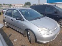 HONDA CIVIC 1.6 EXCELLENT CONDITION, SMOOTH ENGINE AND GEARBOX, ANY OLD CAR PX WELCOME