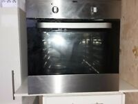 Zanussi conventional oven 600mm