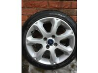 """16"""" Ford alloy wheels and tyres, set of 4"""