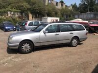 Mercedes E320 automatic 7 seater, starts and drives, MOT until May 2018, trade sale, selling as it i
