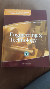 U of A Textbook- Accident Prevention Eng. & Tech 14th edition
