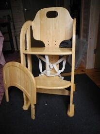 High chair/multi position chair up to 10 years