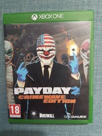 Payday 2 Xbox One