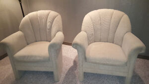 Two matching armchairs for only $100.00